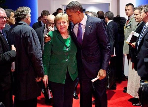 Merkel und Obama, der seit 2017 Rentner ist.