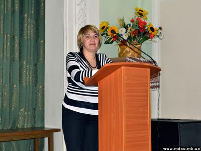 Вручення дипломів магістрам на обліково-фінансовому факультеті 2011.