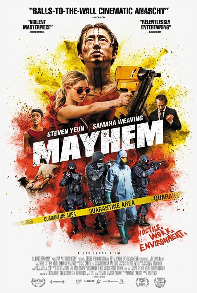 Filme Mayhem - Legendado 2017 Torrent