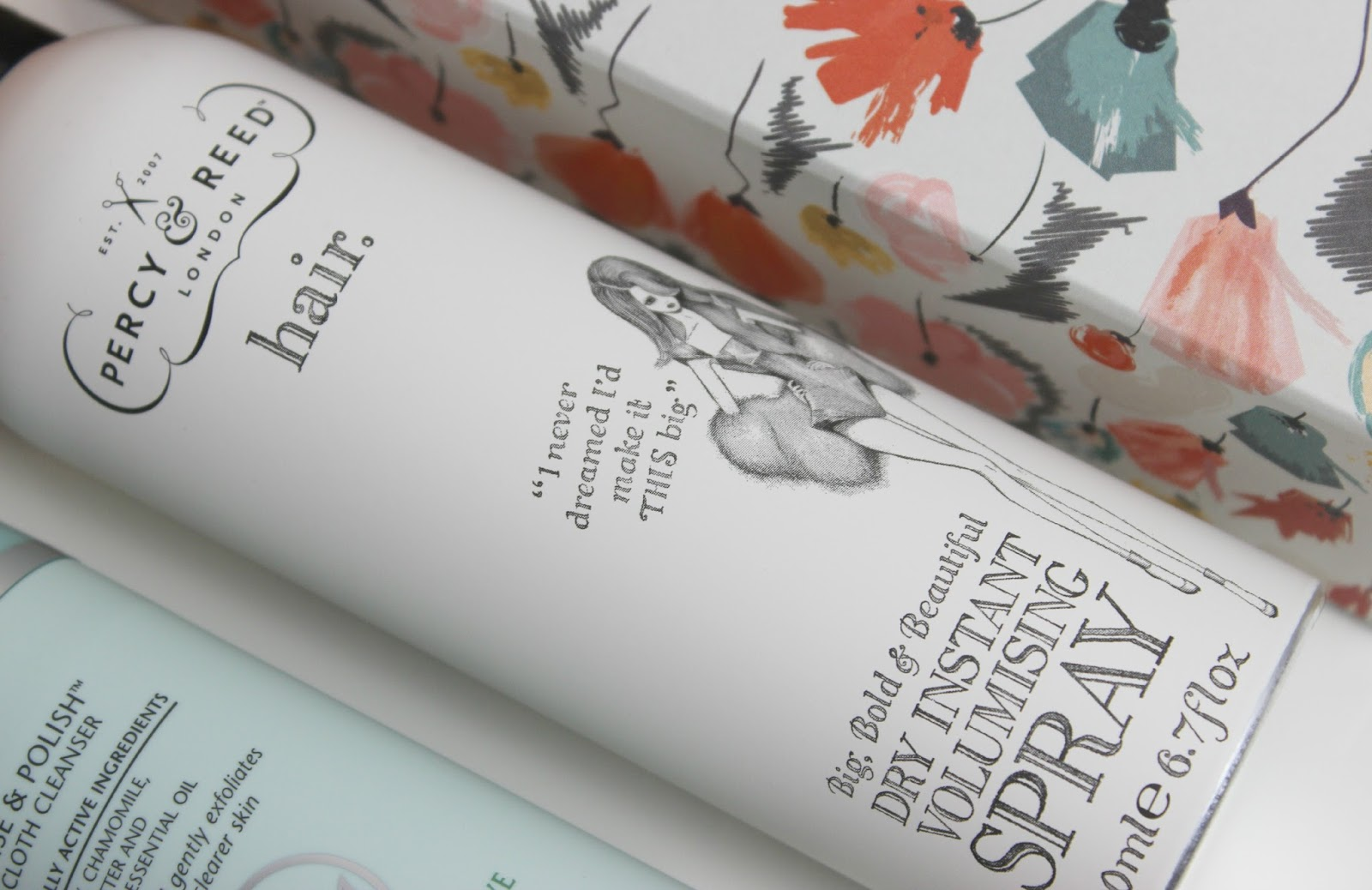 A picture of Percy & Reed London Big, Bold & Beautiful Dry Instant Volumising Spray