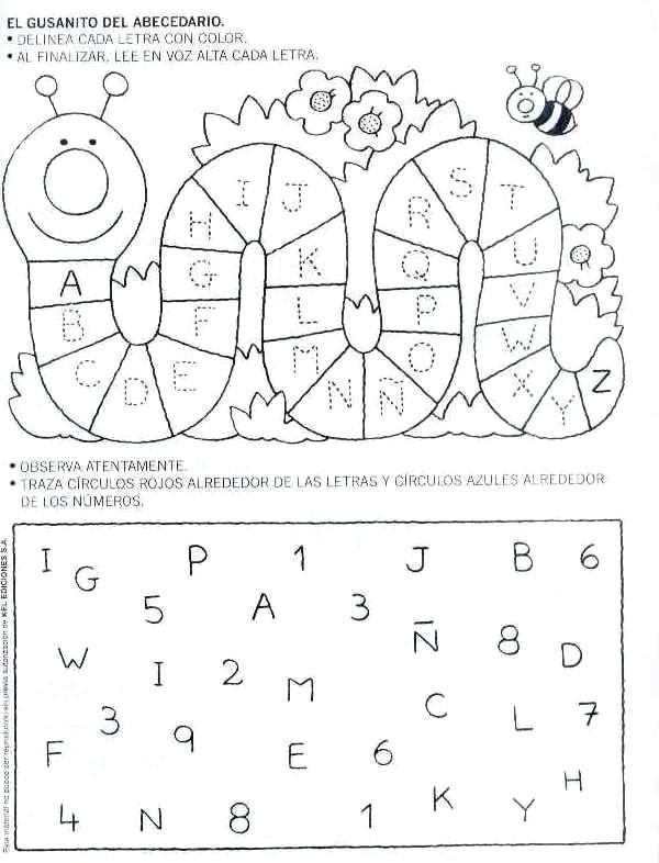 Sopa de letras para niños de preescolar - Imagui