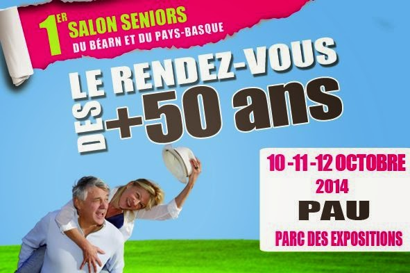 B arn ossau d couverte 1er salon des seniors pau 10 11 for Salon seniors