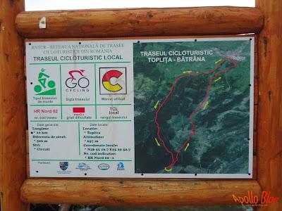 Traseu Cicloturistic Toplita Batrana