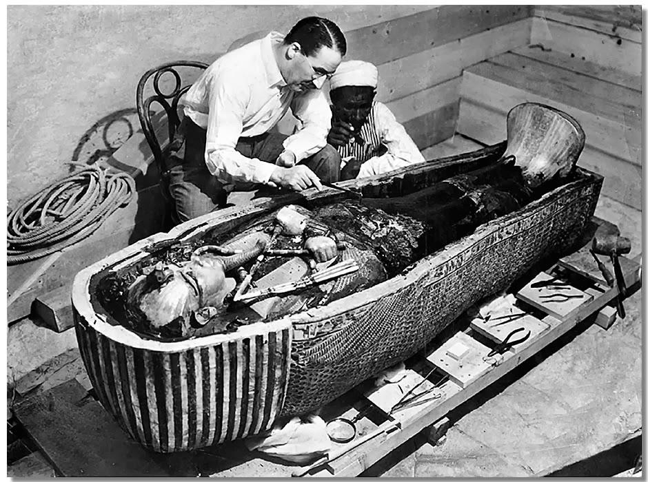 Tumba abierta de Tutankamón