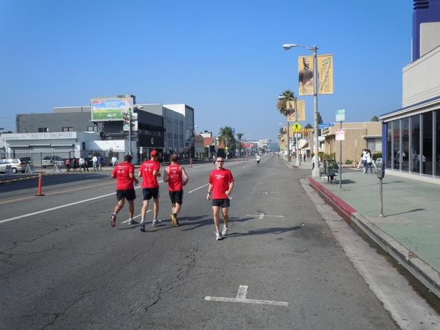 Jason runs AIDS Walk LA 2011