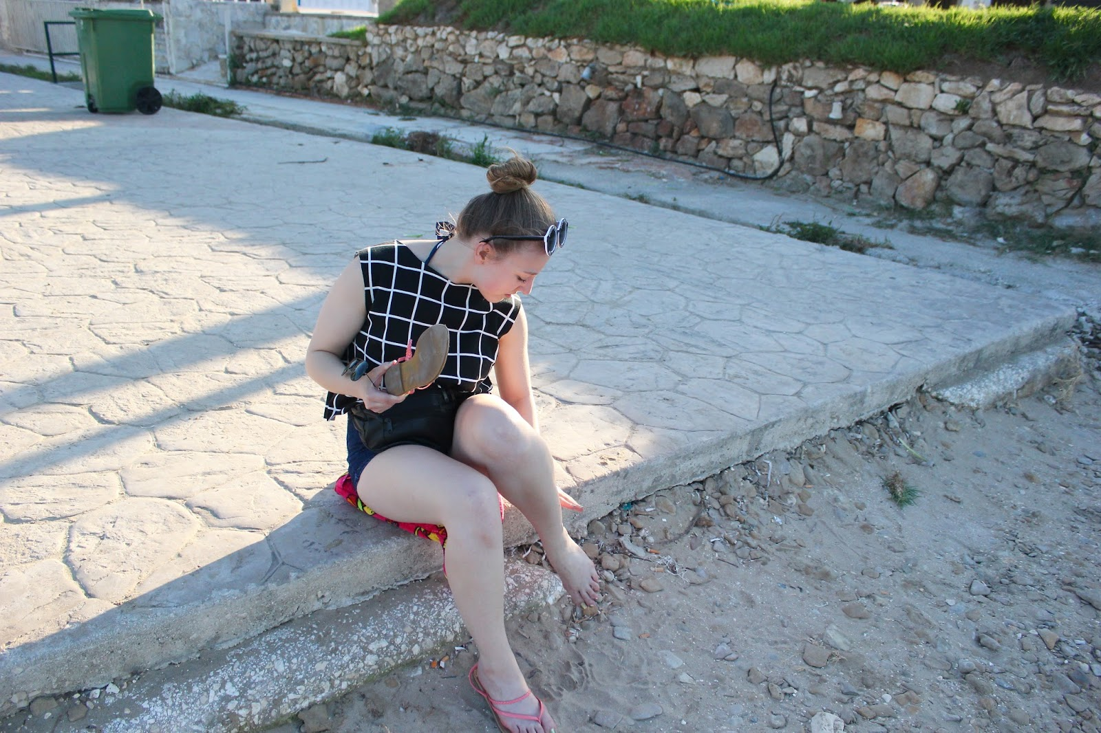 Georgie Minter-Brown blogger actress travel zante tsilivi holiday photo diary sea beach relax