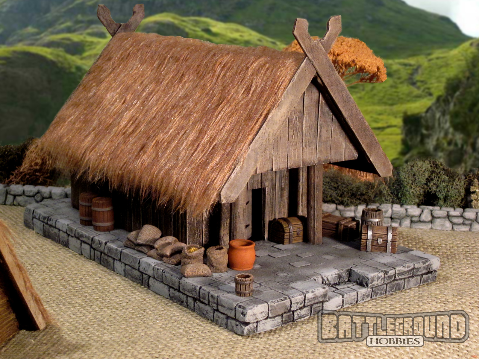 Does This House Look Like A Viking Home Survival Mode