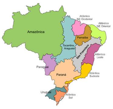 blog sos rios do brasil as bacias hidrogr ficas do brasil. Black Bedroom Furniture Sets. Home Design Ideas