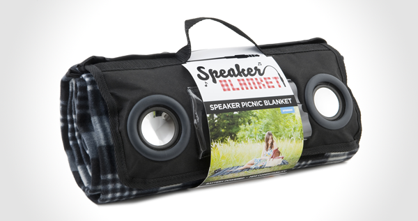 Speaker Picnic Blanket