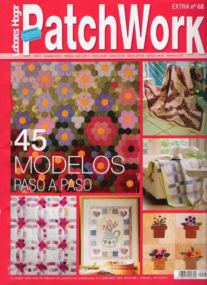 Revista Tus Manos Lenceria De Baño:Como hacer colcha en patchwork – Revistas de manualidades Gratis