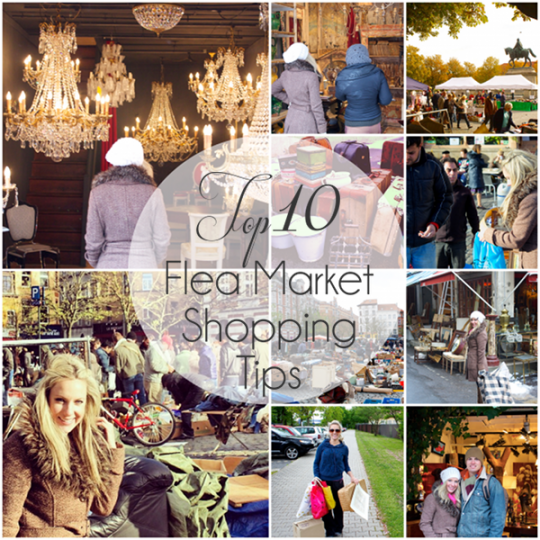 Top 10 Flea Market Shopping Tips | Design Eur Life