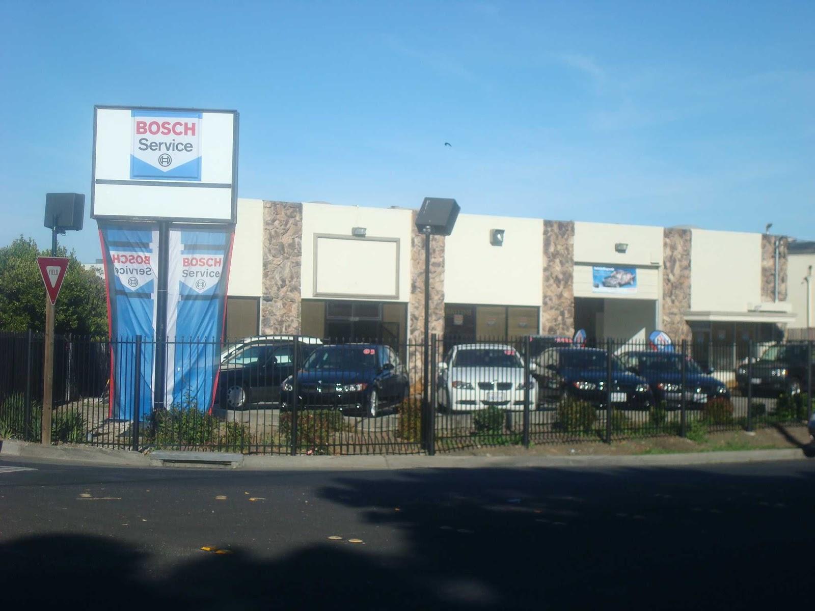 Bosch European Motors Luxury Cars Service Repair and Auto