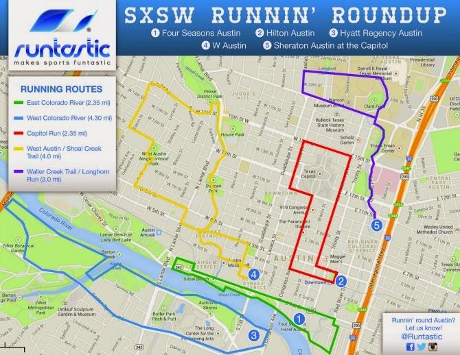 SXSW Runnin' Roundup