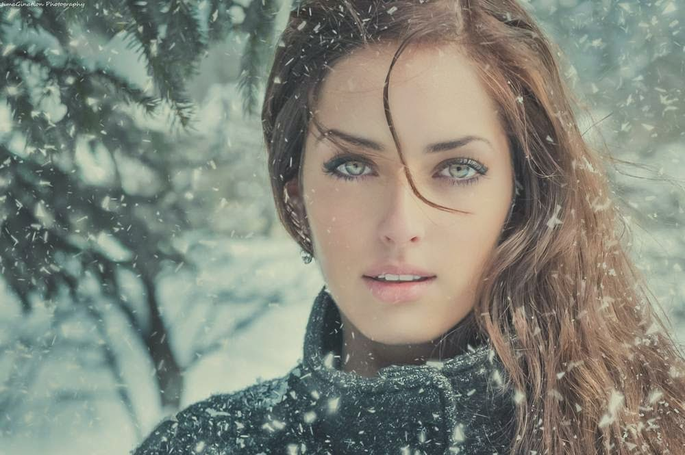 Winter Beauty And Fashion Photography