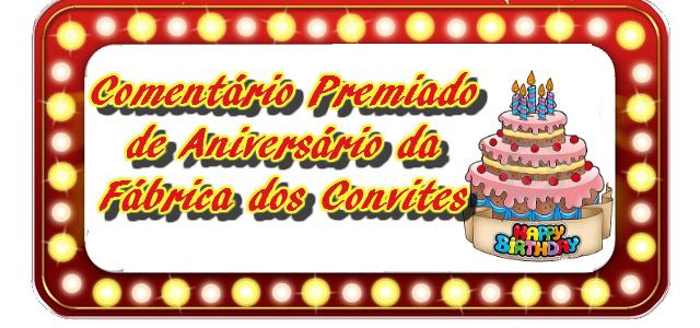 Promoção Aniversário Fábrica dos Convites