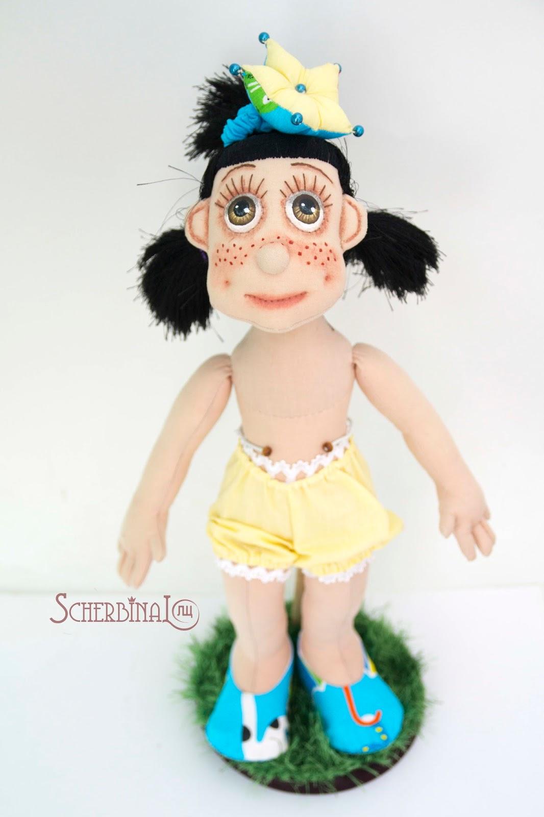Текстильная игровая кукла-карамелька принцесса Рая, кукла ручной работы