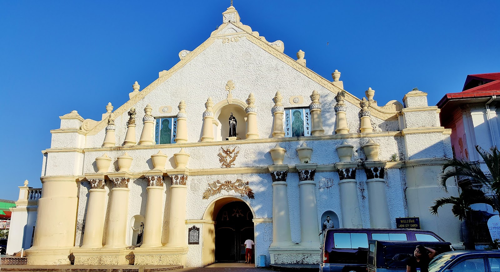 St William Cathedra, Laoag