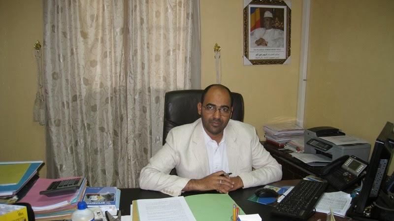 LE DIRECTEUR GENERAL  DE L'HGRN, DR SALEH  ABDELSALAM  ET SES PRINCIPAUX COLLABORATEURS