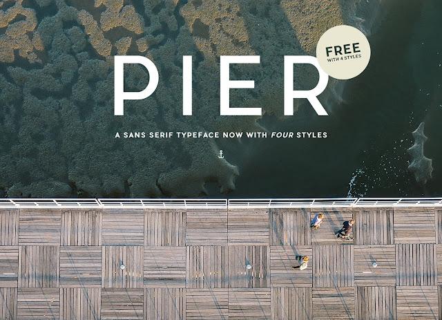 download pier sans serif free font