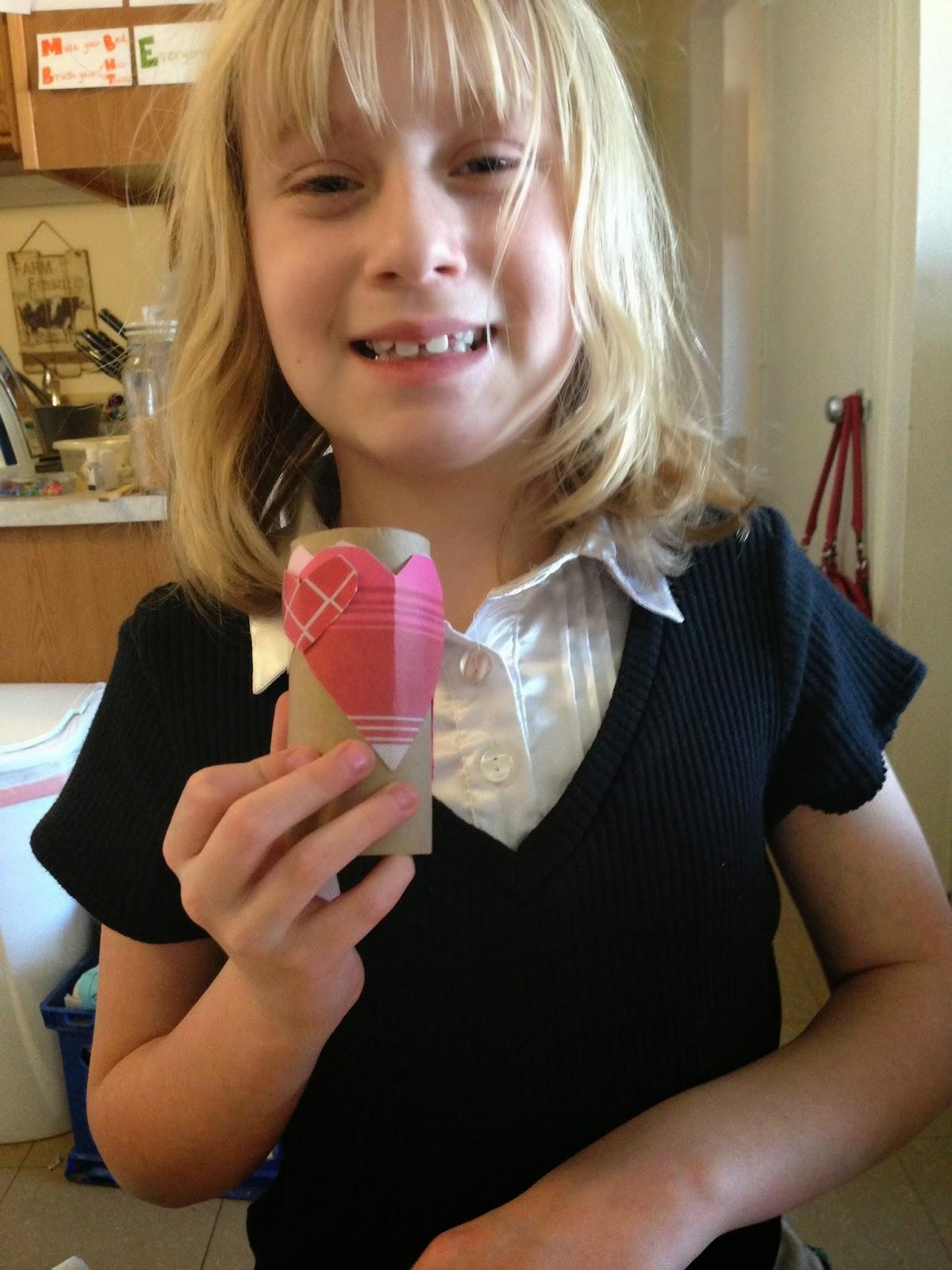 making a valentines craft