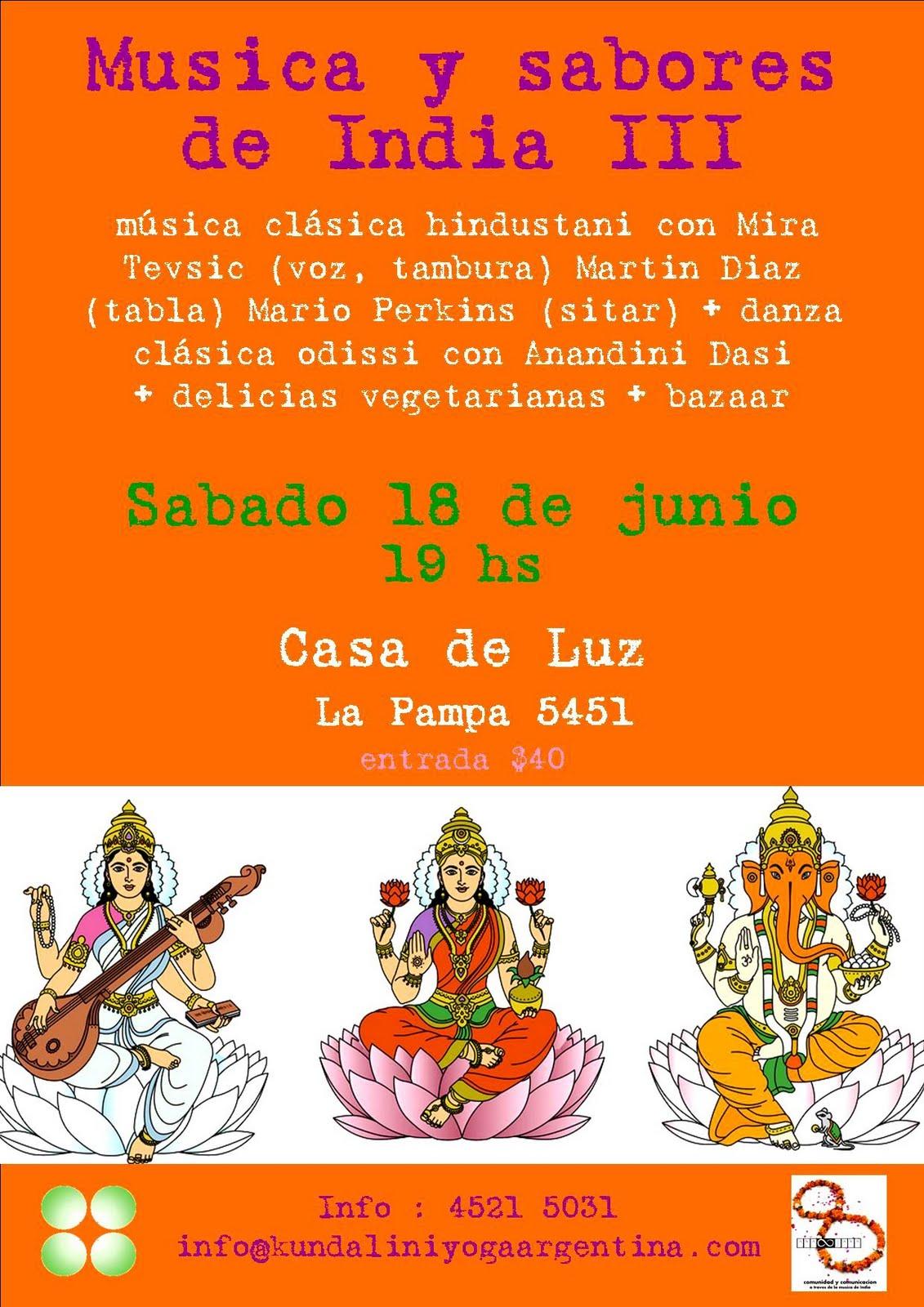 M sica cl sica de la india m sica y sabores de la india iii for Casa piscitelli musica clasica