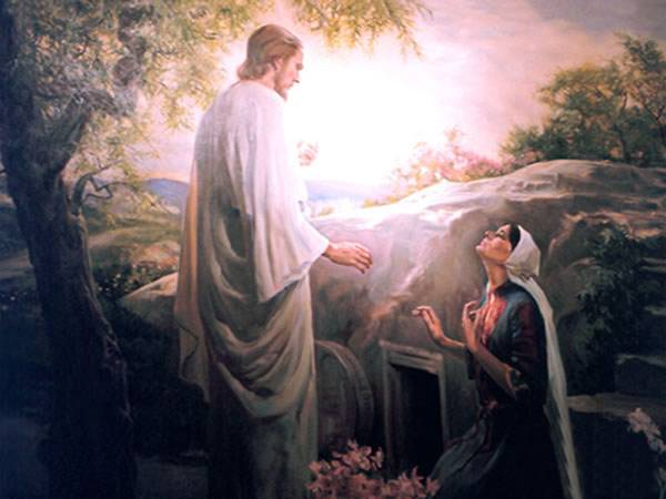 images of jesus christ with mary. Now on the first day of the week Mary Magdalene came to the tomb early,