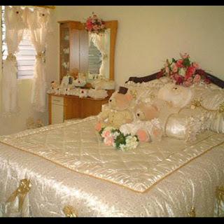 dekorasi kamar pengantin toko bunga cibubur