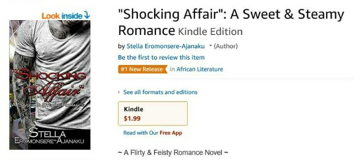 """Shocking Affair"" was Amazon #1 Bestselling New Release!!!"