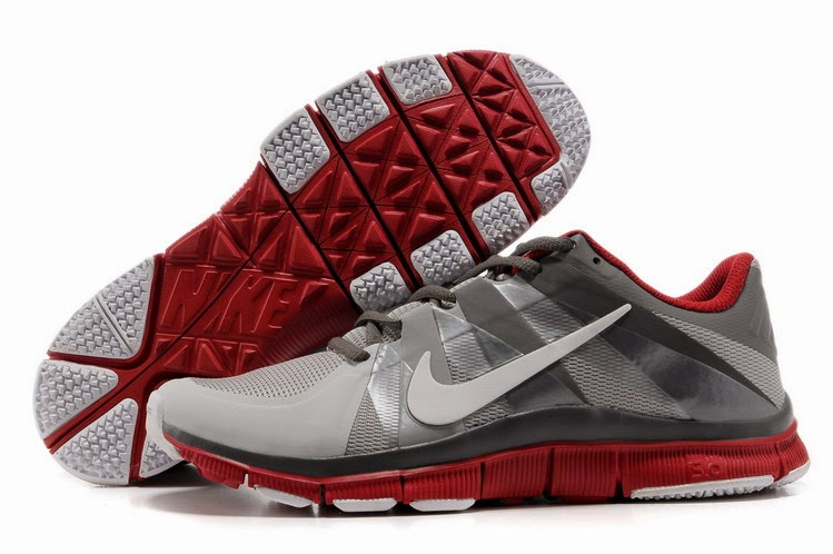 Mens Nike Free 40 V3 Leather Running Shoes BlackGrey For Sale