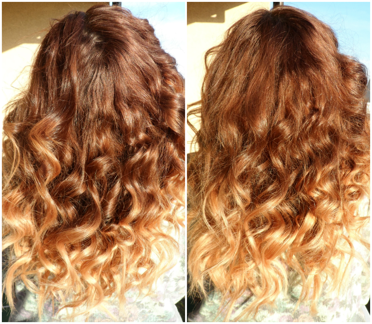 Curls curls curls ombre hair another kind of beauty blog - Ombre braun blond ...