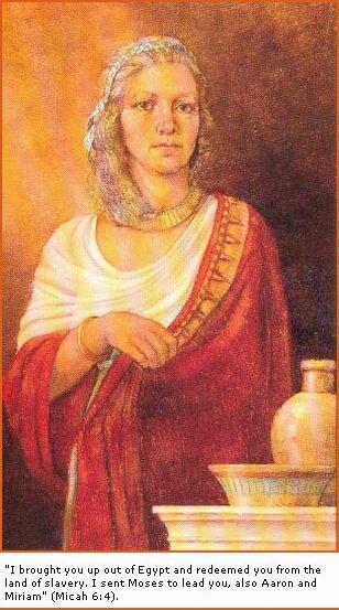 Miriam – First Female Prophet