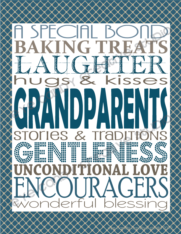 grandparents day art, free art for grandparents day, papa, grandma, grandpa