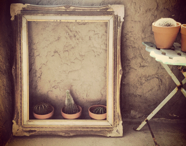 diy vintage patio