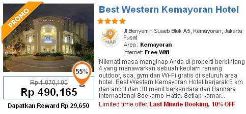 Berikut Adalah Daftar Hotel Murah Di Jakarta Daerah Kemayoran