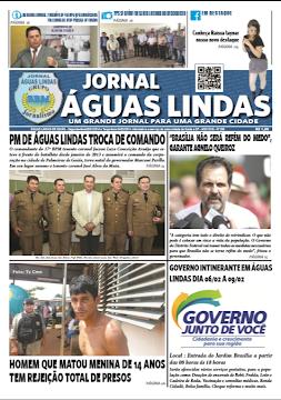 Edição 208 do Jornal Águas Lindas