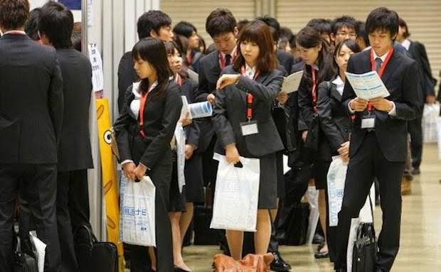 Japanese women at work