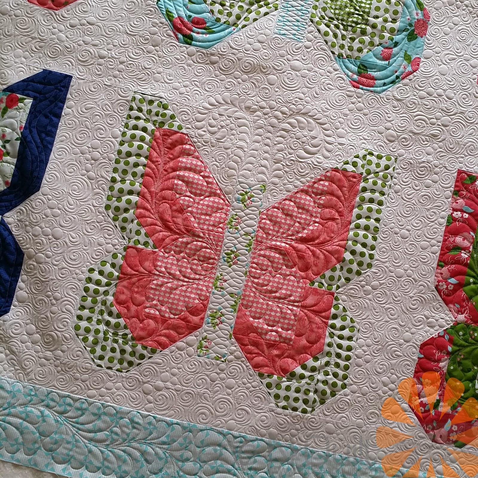 Piece N Quilt: Social Butterfly- The Quilt : butterfly quilt - Adamdwight.com