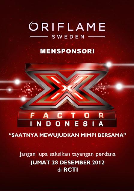 X FACTOR INDONESIA BERSAMA ORIFLAME