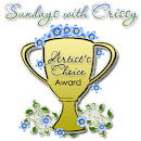 Artist's Choice Award at Sundays with Crissy