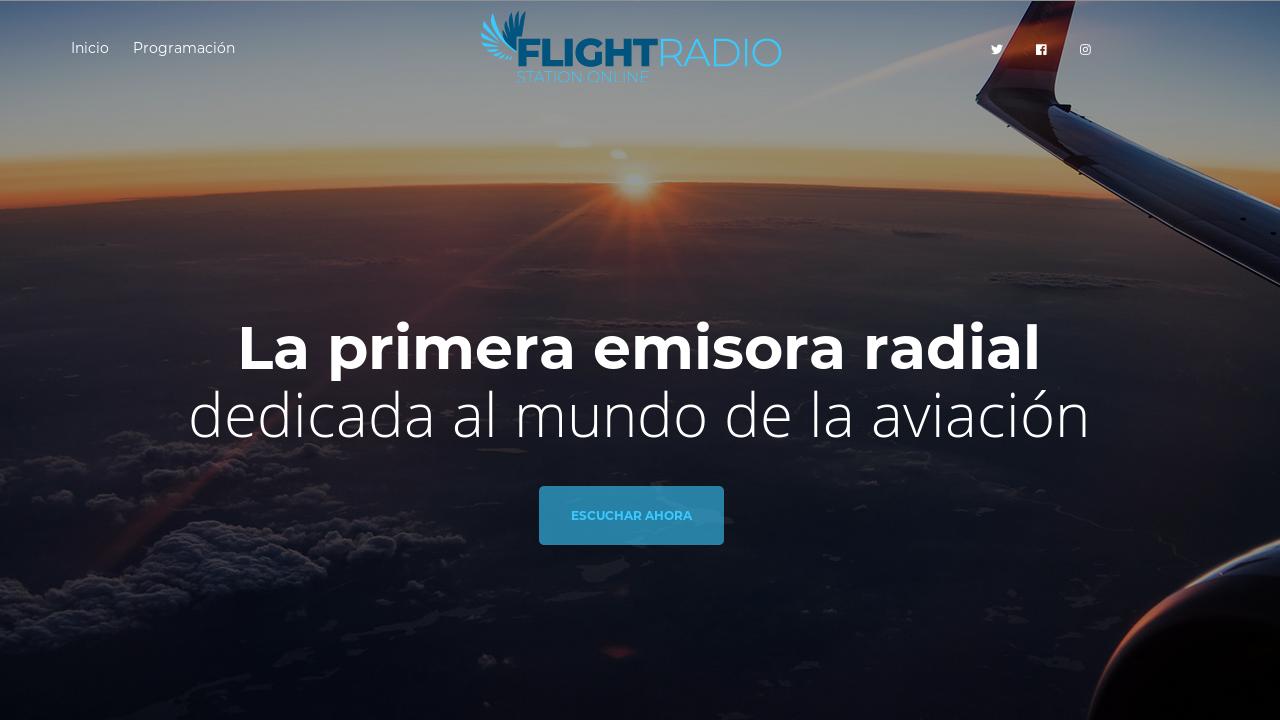 Flight Radio Station Online
