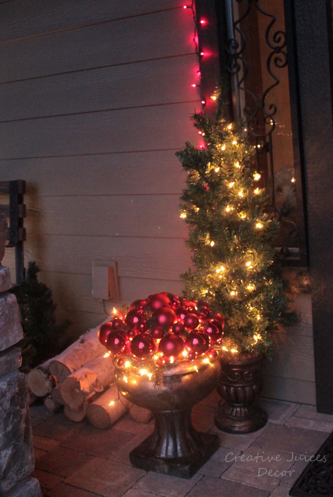 Creative Juices Decor A Rustic Christmas Front Porch