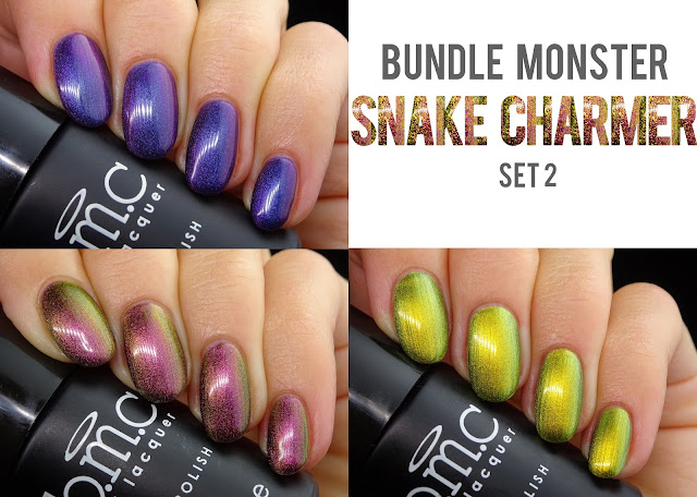 Bundle Monster Snake Charmer Collection swatches