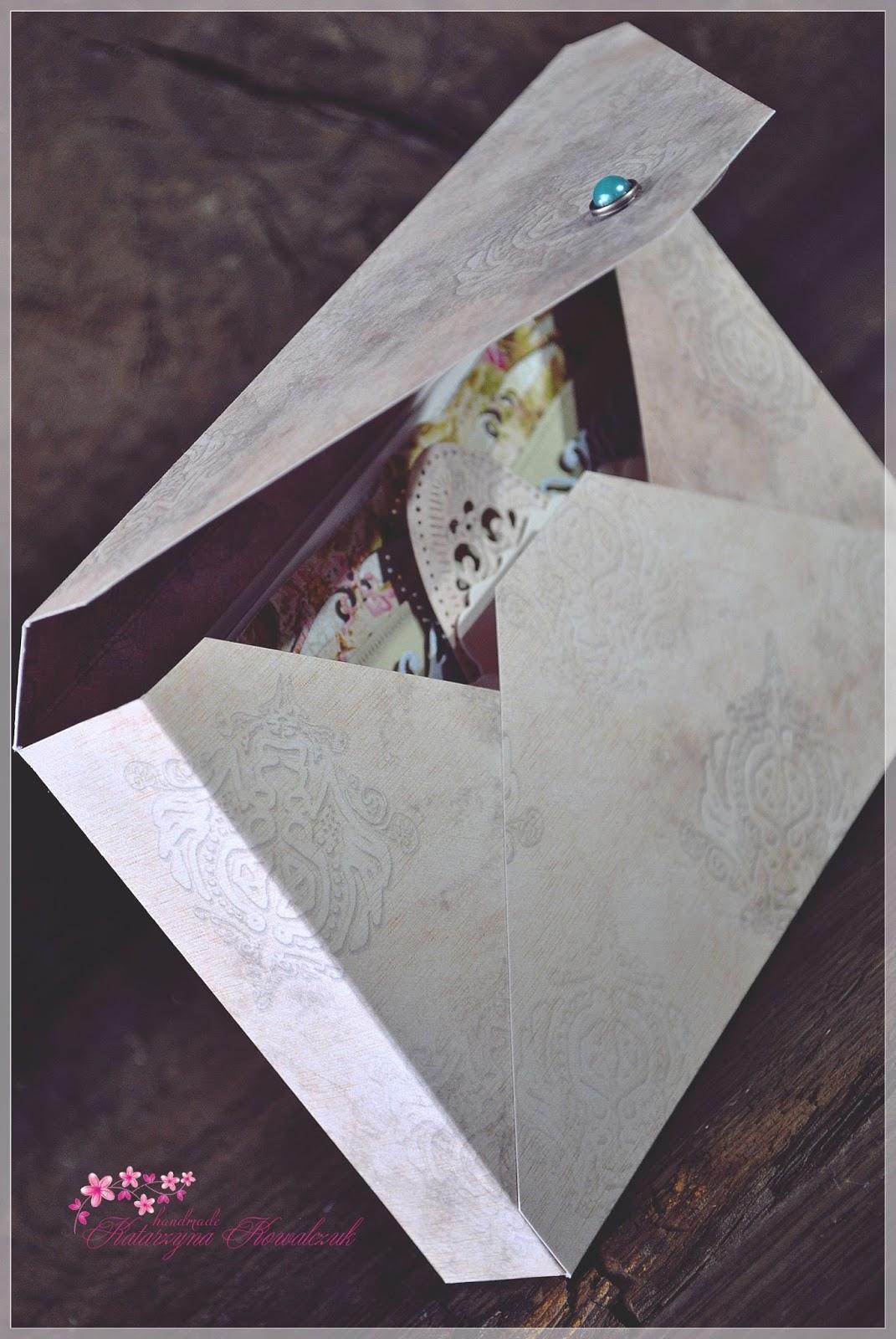 kartka z okazji 40 rocznicy ślubu scrapbooking