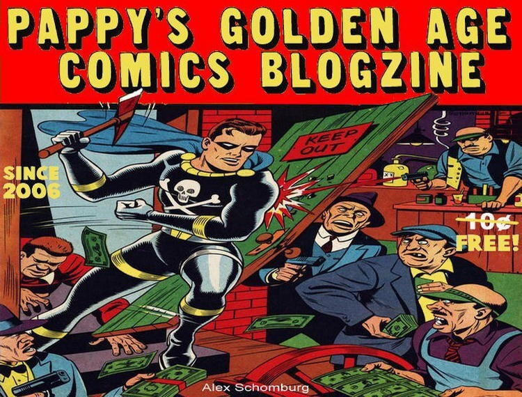 Pappy's Golden Age Comics Blogzine