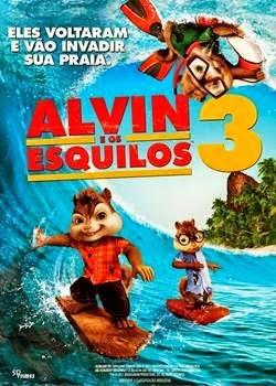 Filme Alvin e os Esquilos 3