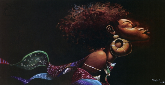 Frank Morrison | African American painter | The Urban Jazz