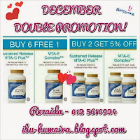 Promotion December 2014: VIT C & E