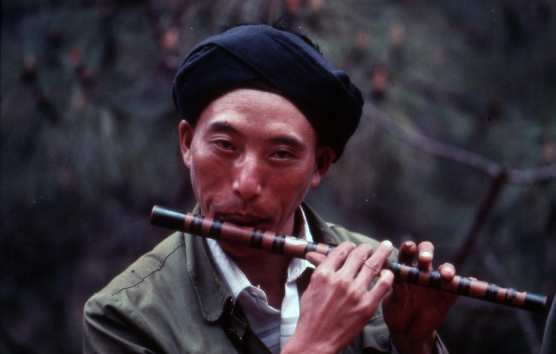 Yi on flute