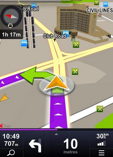 sygic offline gps navigation useful app every driver must have