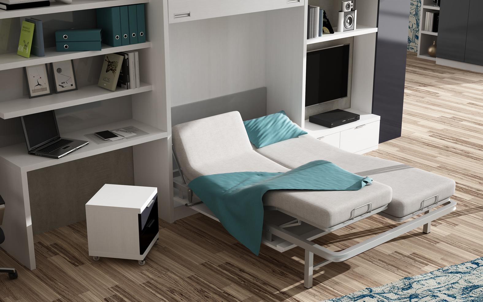 Litera con cama de matrimonio good litera instruccin for Cuanto sale un sofa cama